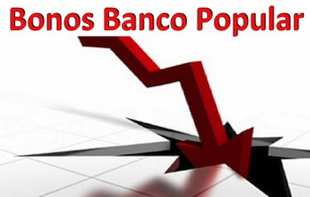 Anular Bonos Convertibles Banco Popular